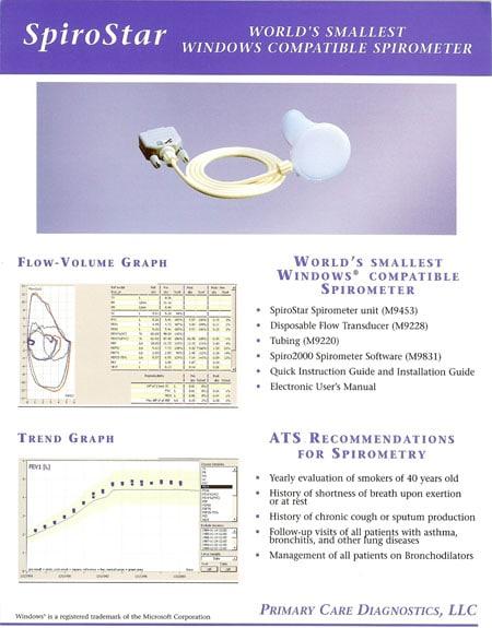 SpiroStar brochure